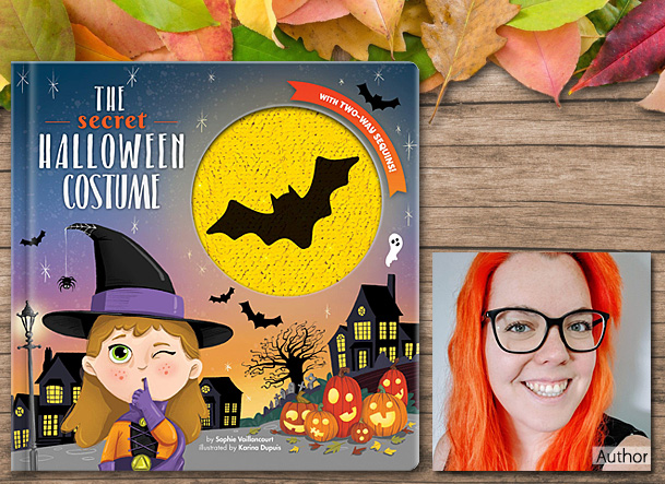 The Secret Halloween Costume, Cover Image CrackBoom Books