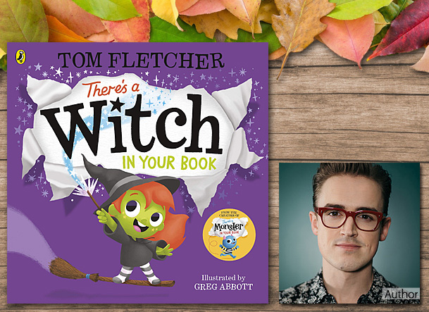 There's a Witch in Your Book, Cover Image Puffin Books