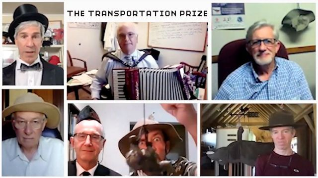 Ig Nobel Prize for Transportation 2021