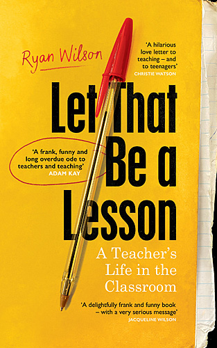 Let That Be a Lesson, Cover Image Random House UK