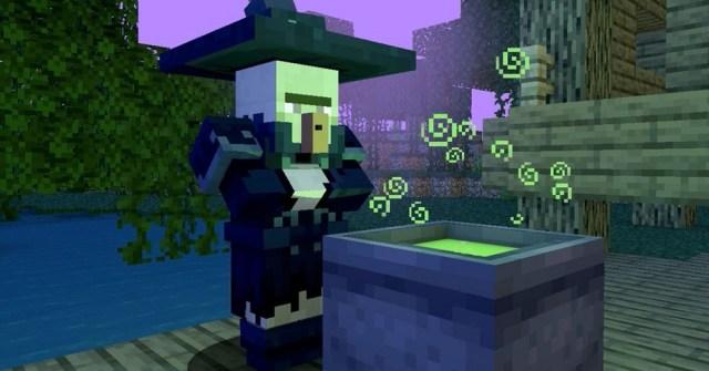 Minecraft witch
