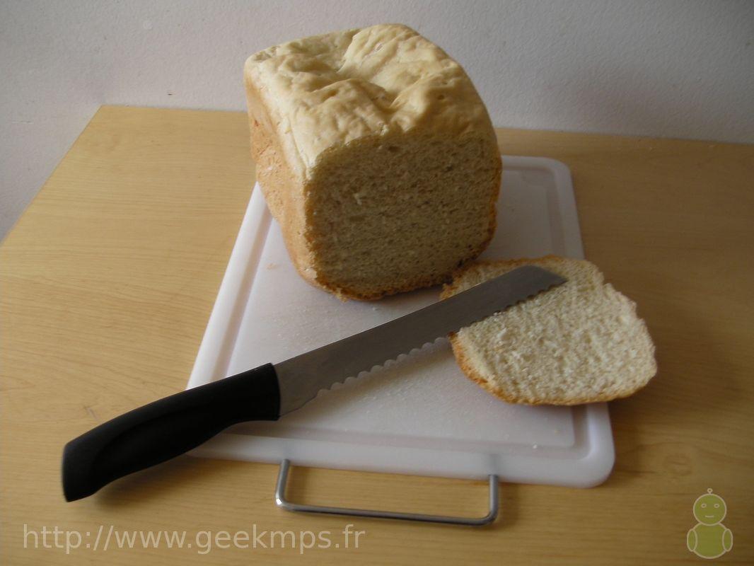 pain aux oeufs avec machine a pain r b