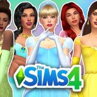The Sims 4 Princesas da Disney