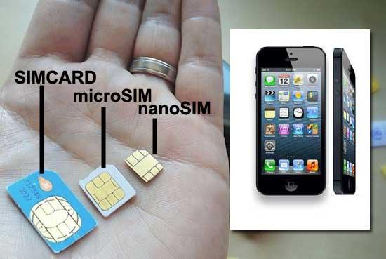 HowTo Cut, Make Nano SIM for iPhone 5, iPhone 6