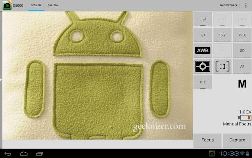 Top Apps to Control Canon, Nikon dSLR with Android Tablet, Phone