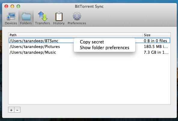 Sync Files Securely with BitTorrent Sync [Dropbox Alternative]
