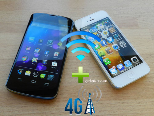 Combine WiFi, 3G 4G Networks: Multipath TCP on iOS 7, Android