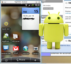 Remotely Control Android Phone [VNC Server]