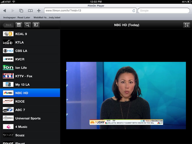 Watch Free LIVE TV on iPhone, iPad, Android