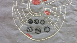 Star Wars: Millenium Falcon Free Printable Embroidery Pattern