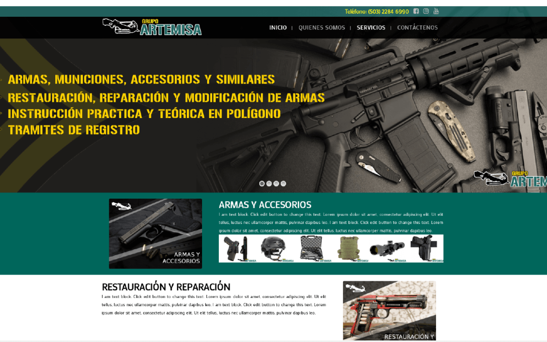 Grupo Artemisa Web