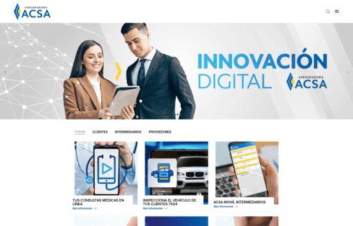 Portal Innovación ACSA