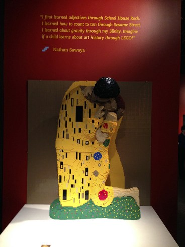 Art Of The Brick, by Nathan Sawaya