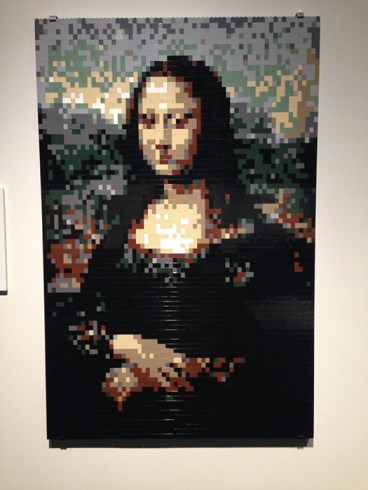 "An impressionistic take on Da Vinci's ""Mona Lisa"""
