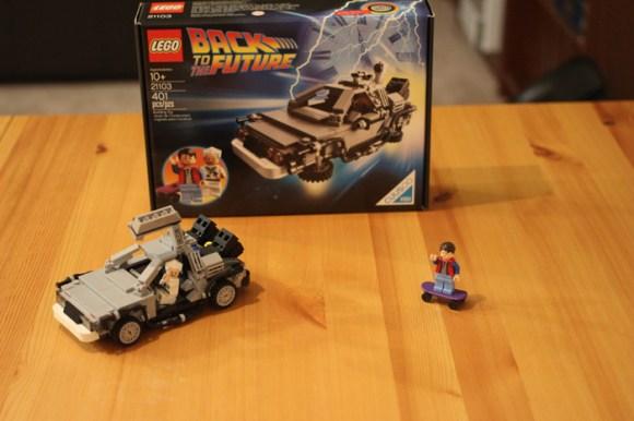 """The Lego Cuusoo """"Back To The Future"""" DeLorean"""
