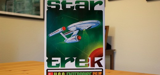 AMT's 'U.S.S. Enterprise' model kit collector's tin.
