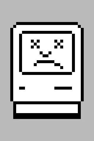 Sad Mac icon