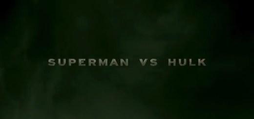 Superman vs. Hulk, by Mike Habjan