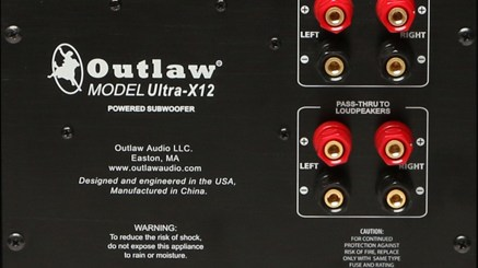 Outlaw Ultra-X12 rear plate