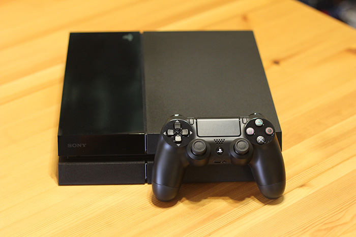 The PlayStation 4, from Sony