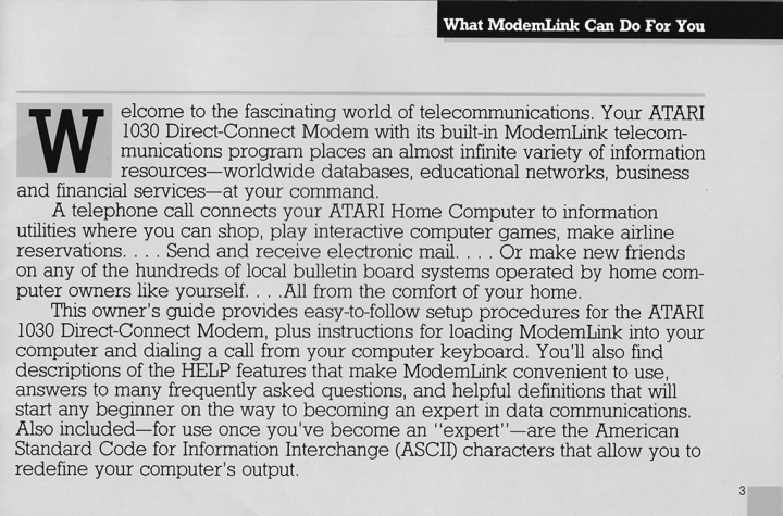 """Welcome to the fascinating world of telecommunications."""
