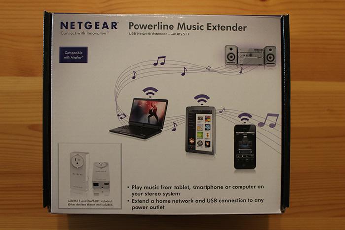Netgear's Powerline Music Extender