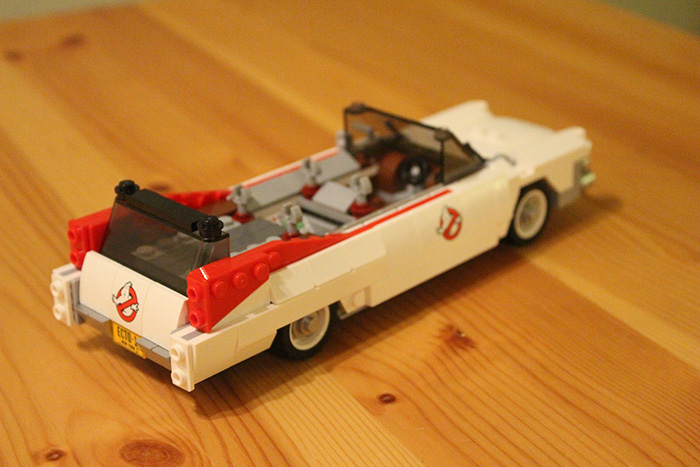 The ECTO is starting to take shape now.