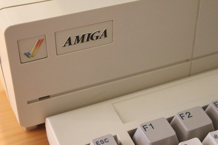 The Amiga, from Commodore.