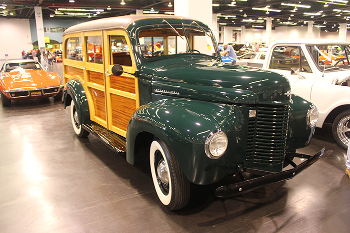 1941 Internation Woody Wagon, number 14 of 18 produced.