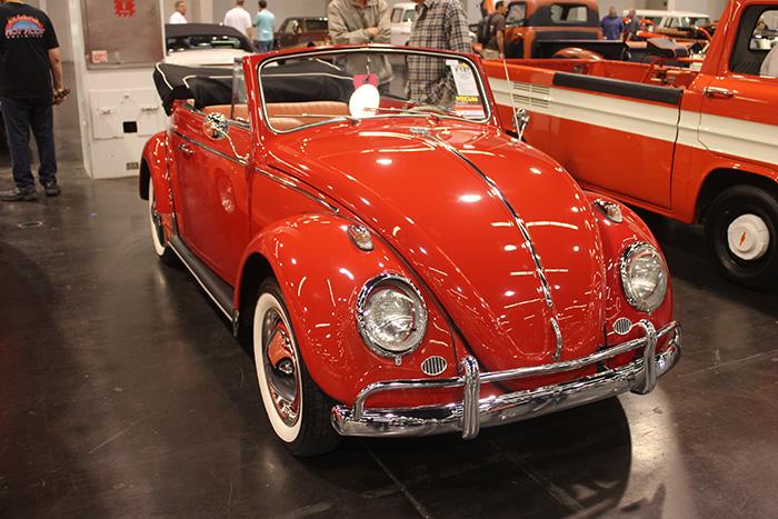 1963 Volkswagen Beetle convertible, 4-speed.