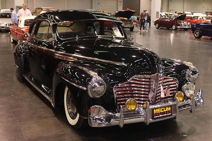 1941 Buick Sedanette, 248ci, 3-speed.