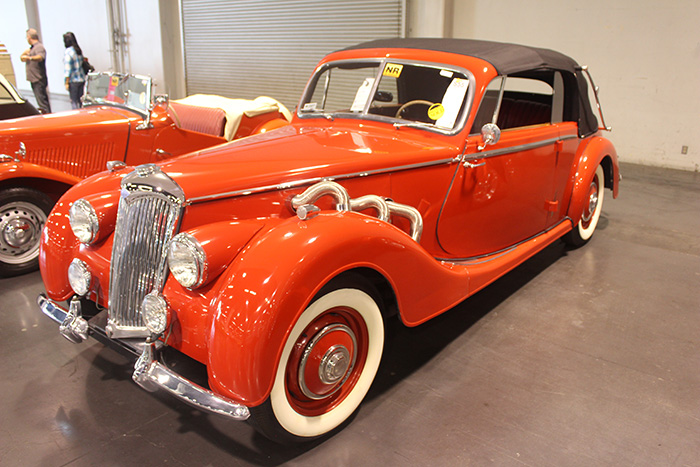 1952 Riley Drophead Coupe, 2.5L with Dual Carbs.