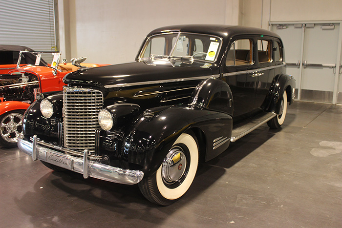 1939 Cadillac Series 90 Limousine, V16, 3-speed.