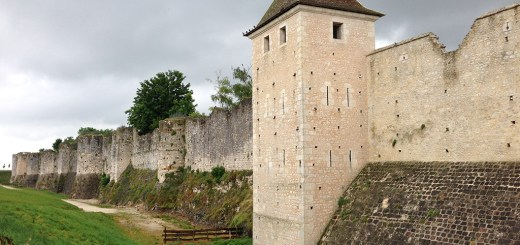 The fortified walls of Provins.