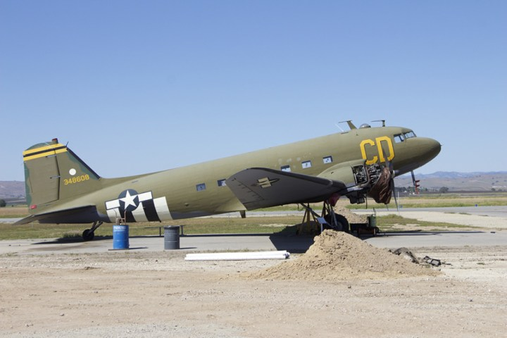 Restoring the C-47 Skytrain.
