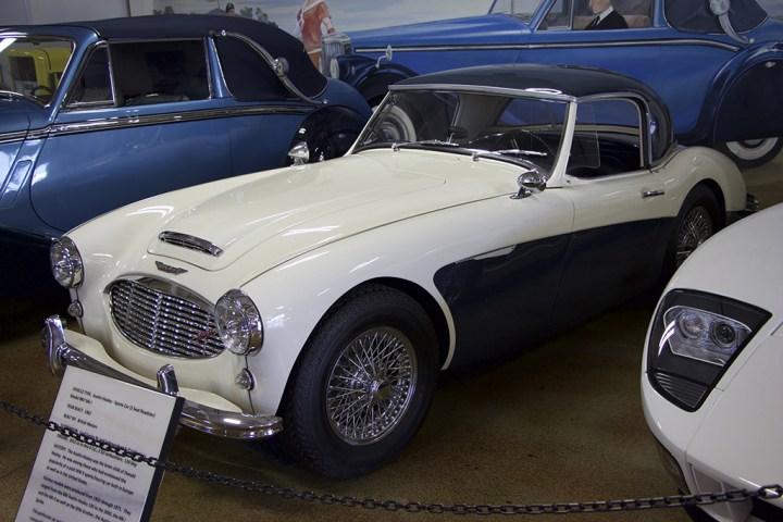 The 1962 Austin-Healey Sports Car.
