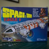MPC's Space: 1999 Eagle 1 Transporter model kit box.