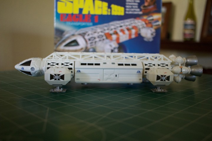 The completed MPC Eagle Transporter model.