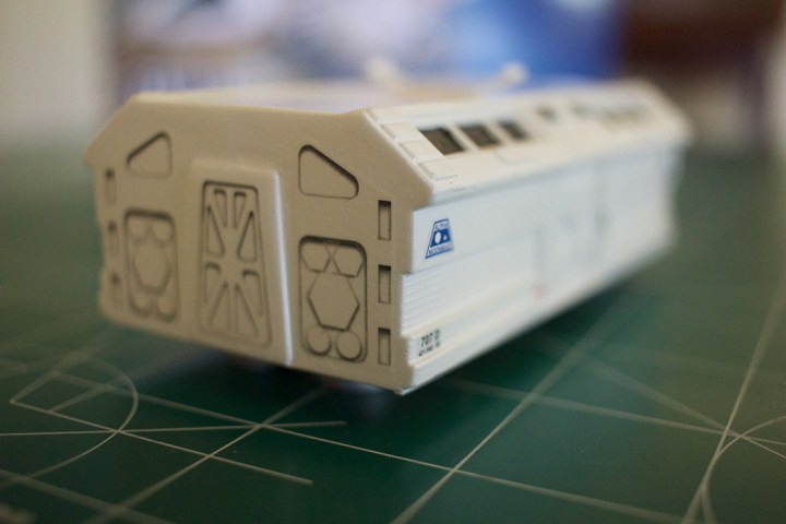 The MPC Eagle Transporter kit includes nicely detailed decals.