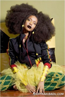 Badu in photoshoot, from erykah-badu.com