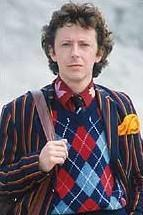 David Dixon as Ford Prefect in the BBC television series of Hitchhikers Guide to the Galaxy (1981)