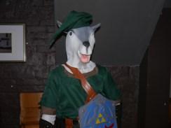 Baa, it's Link.
