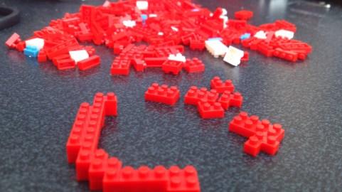 Pixel Bricks Blinky - Progress #1