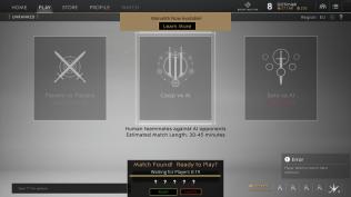 Select a game mode
