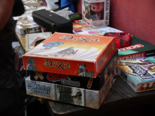Board games swamped our meets.