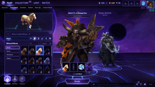 Jake and I get ready to play some Heroes of the Storm!
