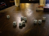 Story Dice! Very cute, very simple and a LOT of laughs.
