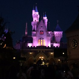 Sleeping Beauty Castle before the sun rises