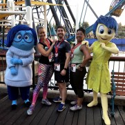 Sadness, Natalie, Ryan, Alia and Joy