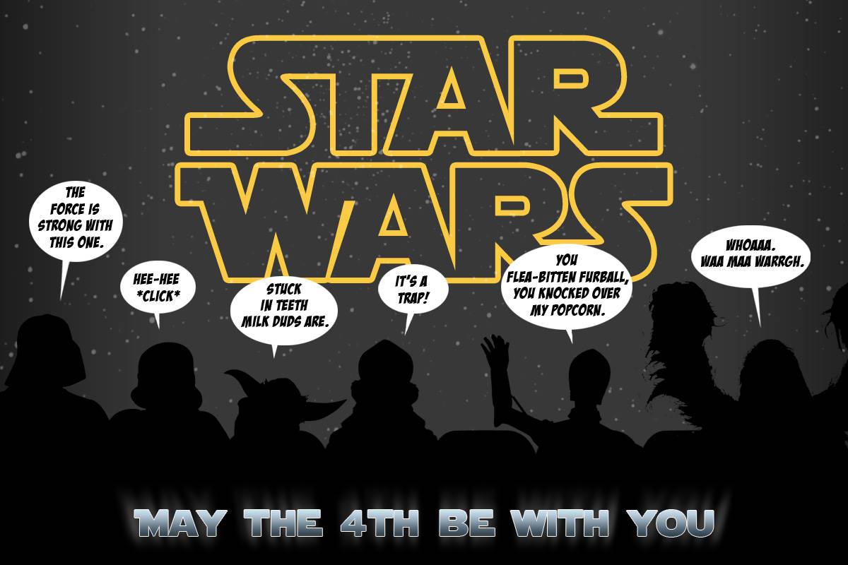Cutest Cartoon Star Wars Puns On The Internet